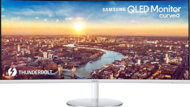 Photo of 34″ Samsung C34J791